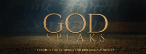 God Who Speaks