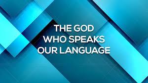 God who speaks 2