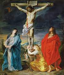 crucifixion with Mary, Mary Mag