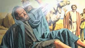 St Paul meeting Jesus